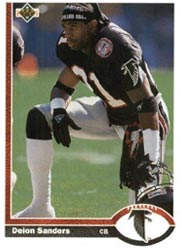 Deion Sanders - DB #21
