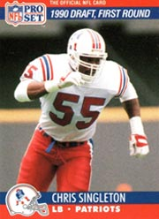Chris Singleton - LB #55