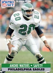 Andre Waters - DB #20