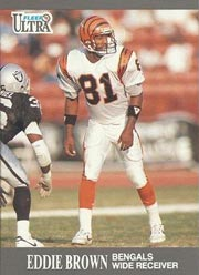 Eddie Brown - WR #81