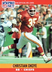 Christian Okoye - RB #35