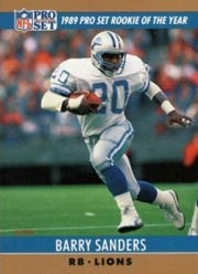 Barry Sanders - RB #20