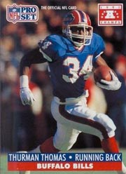 Thurman Thomas - RB #34