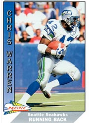 Chris Warren - RB #42