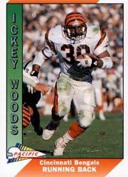 Ickey Woods - RB #30