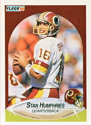 Stan Humphries - QB #16